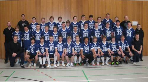 Teamfoto Young Sealords 2012